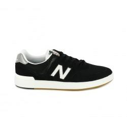 Zapatillas deportivas New Balance 574 negras y blancas con cordones - Querol online