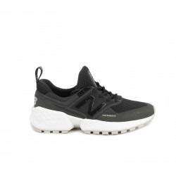 Zapatillas deportivas New Balance 574 negras y grises con cordones