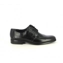 Zapatos vestir Baerchi bluchers de piel negros - Querol online