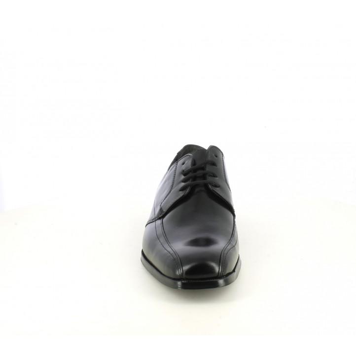 Sabates vestir Baerchi bluchers de pell negres - Querol online