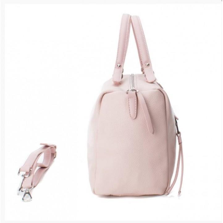 Complementos Xti bolso rosa de asas con bolsillo - Querol online