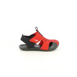 xancletes Nike vermelles i negres amb velcros - Querol online