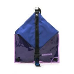 Complementos SixtySeven 67 mochila azul y lila con cremallera central - Querol online