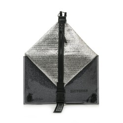 Complementos SixtySeven 67 mochila gris metalizado con cremallera central - Querol online