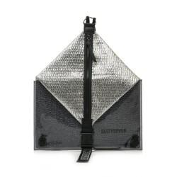 Complements SixtySeven 67 motxilla gris metal·litzat amb cremallera central - Querol online