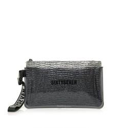 Complementos SixtySeven 67 cartera gris metalizada - Querol online