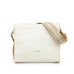Complementos Maria Mare bolso blanco con laterales rosa pastel - Querol online