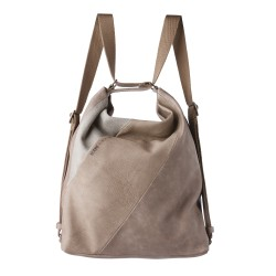 Complementos Slang Barcelona bolso-mochila taupe - Querol online