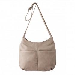 Complementos Slang Barcelona bolso marrón con asa de tela y bolsillos - Querol online
