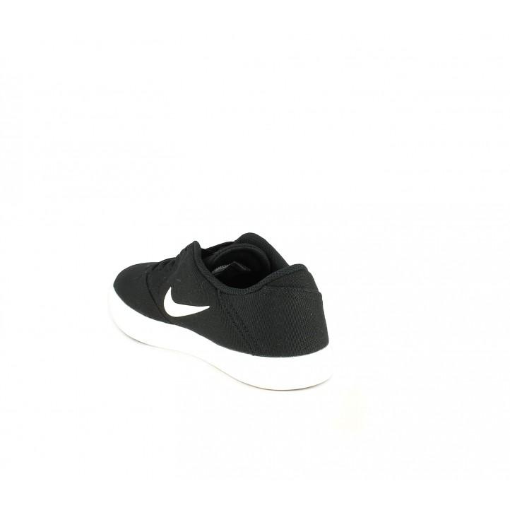 Zapatillas Nike sb check negras y blancas - Querol online
