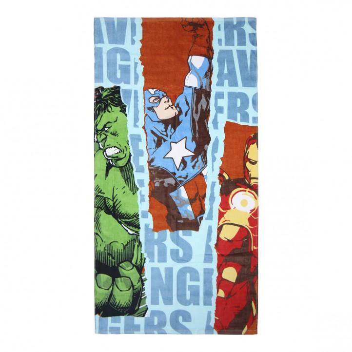 Complementos Cerda toalla the avengers azul, roja, verde y amarilla - Querol online