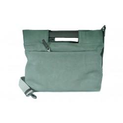 Complementos Slang Barcelona bolso verde con asa y tira - Querol online