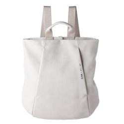 Complementos Slang Barcelona mochila gris con doble cremallera frontal - Querol online