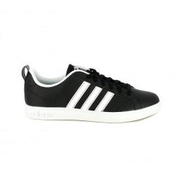 Zapatillas deportivas Adidas advantage negras con franjas blancas - Querol online