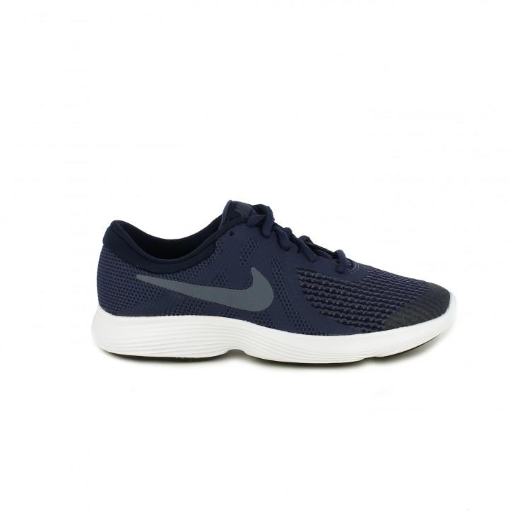 Sabatilles esport Nike revolution 4 blau marí - Querol online