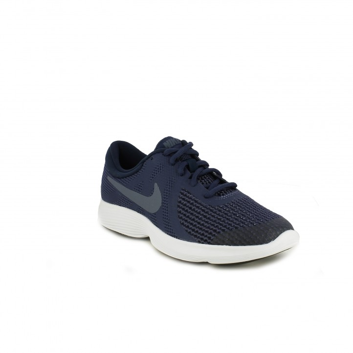 Zapatillas deporte Nike revolution 4 azul marino - Querol online