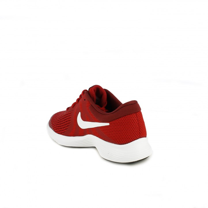 Zapatillas deporte Nike revolution 4 rojas - Querol online