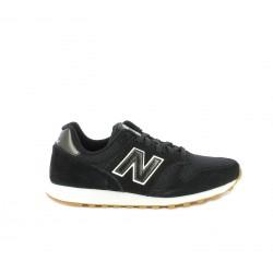 Zapatillas deportivas New Balance 373 negras y blancas