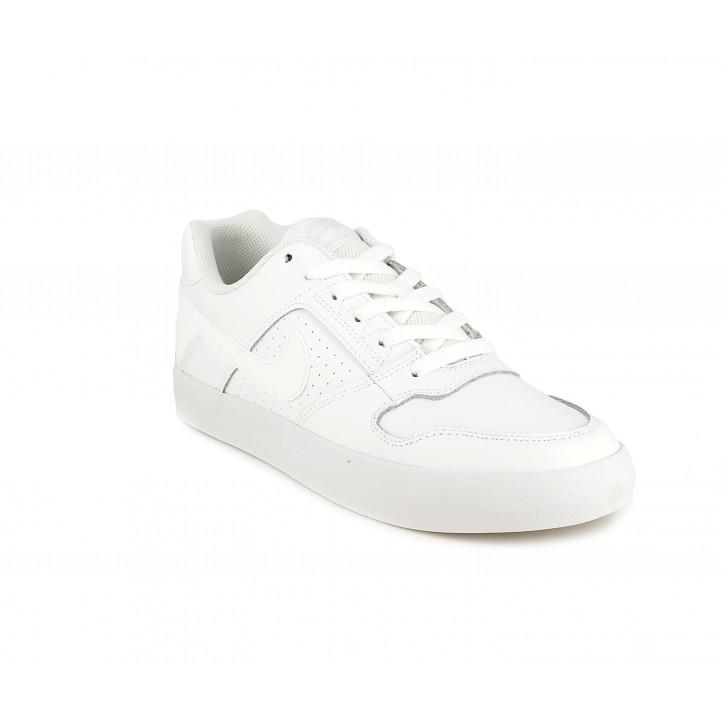 Zapatillas deportivas Nike blancas con cordonessb delta force - Querol online
