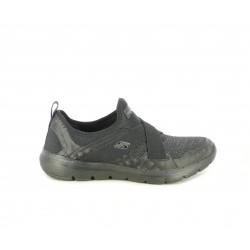 Zapatillas deportivas Skechers sin cordones acabado jaspeado con plantilla air cooled memory foam - Querol online