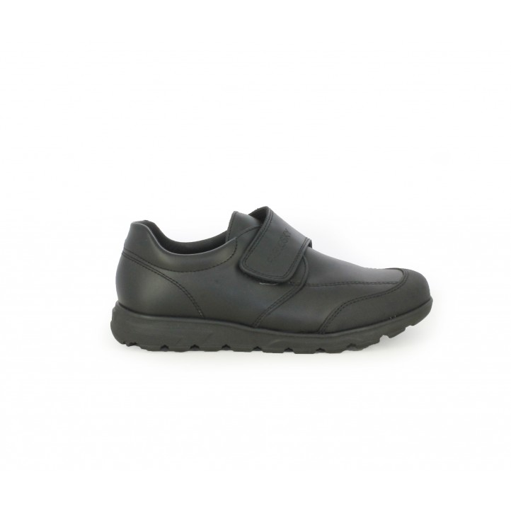 Zapatos Pablosky cerrados de piel negros con velcro - Querol online