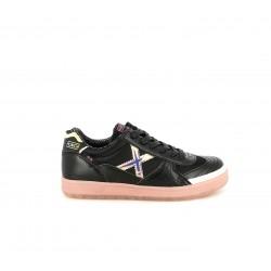 Zapatillas deporte MUNICH g3 negras y rosas