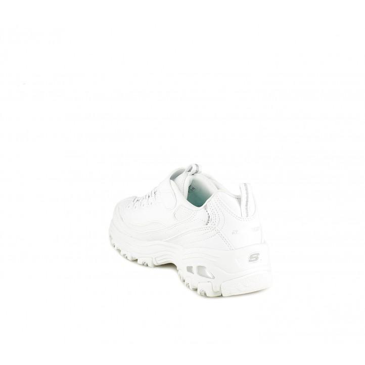 Zapatillas deporte Skechers cierre de elásticos y velcro con plantilla air cooled memory foam - Querol online