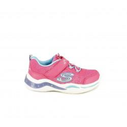 Zapatillas deporte Skechers con luces y cordones elásticos
