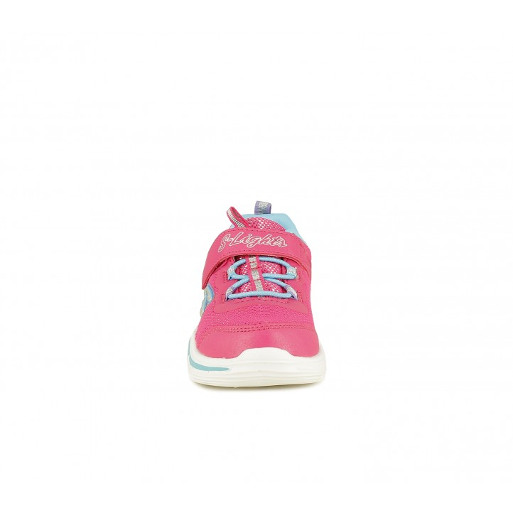 Zapatillas deporte Skechers con luces y cordones elásticos - Querol online