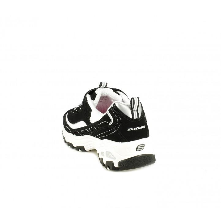 Zapatillas deporte Skechers D´lites cordones y plantillas memory foam - Querol online