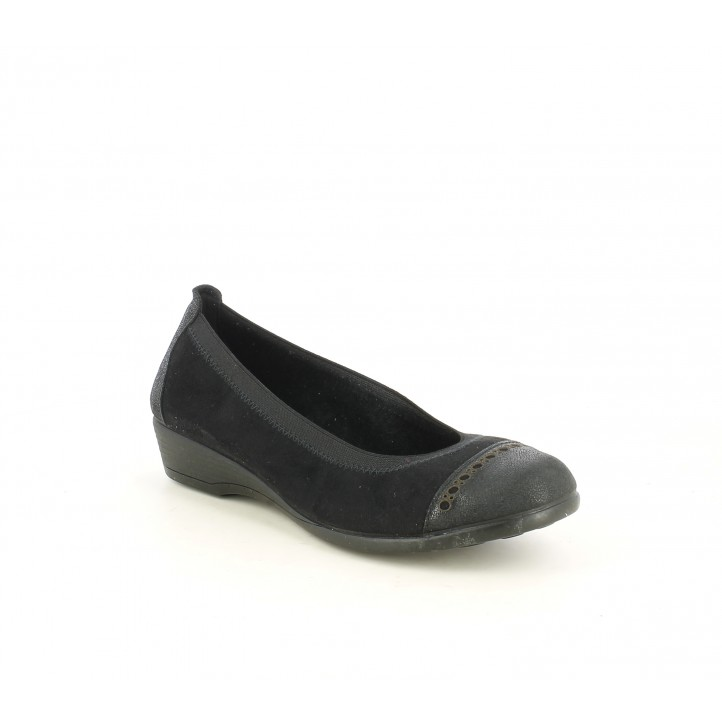 Bailarinas Vul·ladi negra con puntera reforzada - Querol online