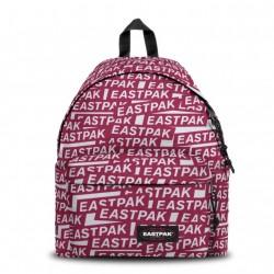 Complements Eastpak motxilla vermella i blanca amb logotip eastpak
