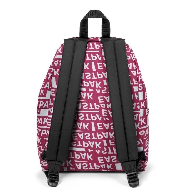 Complementos Eastpak mochila roja y blanca con logotipo eastpak - Querol online