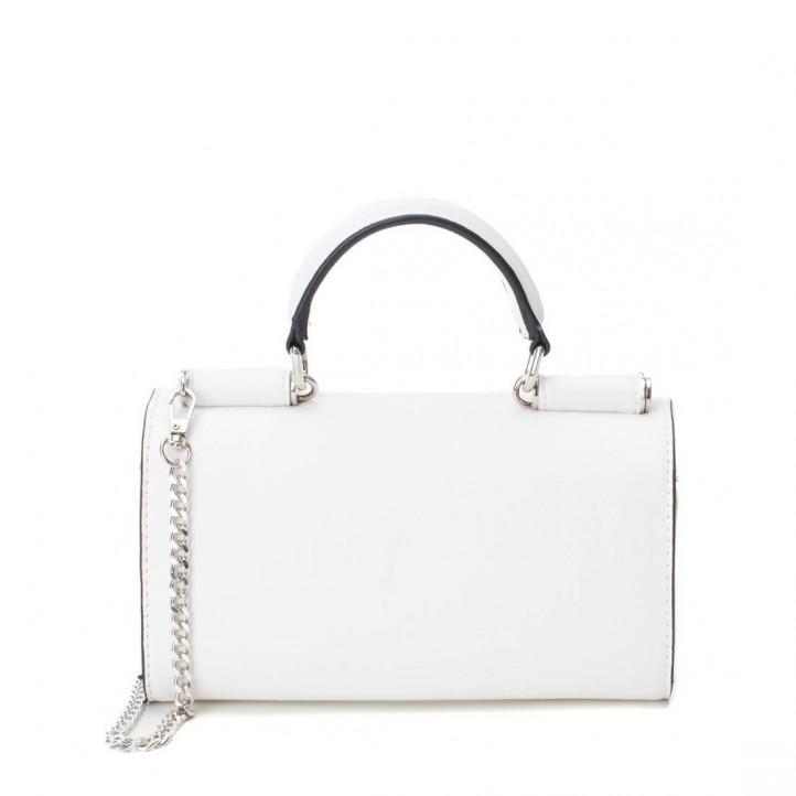 Complementos Xti bolso blanco con cadena metálica y asa - Querol online
