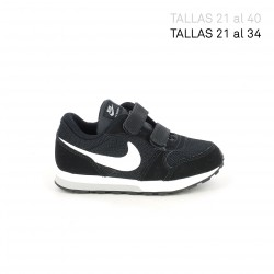 Zapatillas deporte Nike runner 2 negras y blancas - Querol online