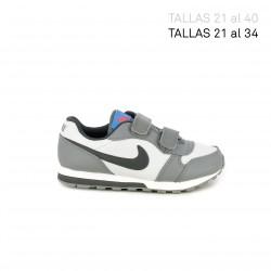 Zapatillas deporte Nike runner 2 grises y negras - Querol online