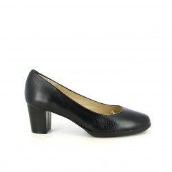 Zapatos tacón Suite009 negros napa de piel - Querol online