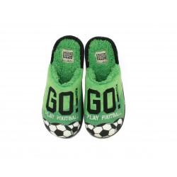 Espardenyes casa Gioseppo verd play football