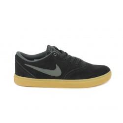 Sabatilles esportives Nike sb check negres amb sola marró - Querol online