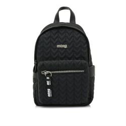 Complementos Mustang mochila negra en nailon cons asas ajustables - Querol online