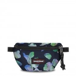 Complements Eastpak ronyonera negre doble compartiment etampat floral model springer