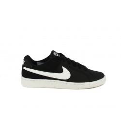 Zapatillas deportivas Nike court royales negras con logo en blanco - Querol online