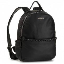 Complementos Refresh mochila negra con tachuelas - Querol online