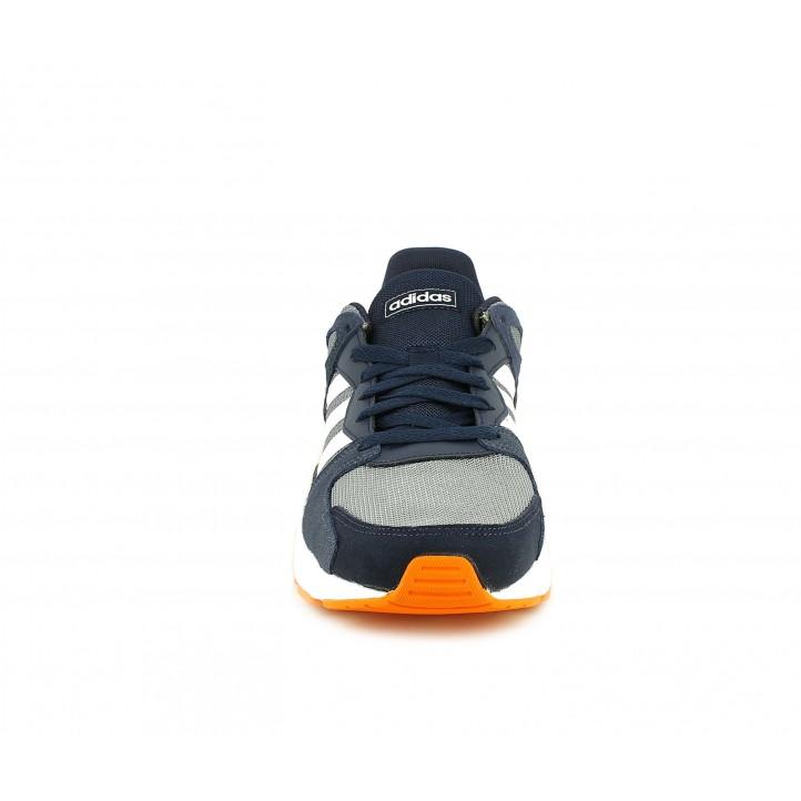 Zapatillas deportivas Adidas chaos azules, grises y blancas - Querol online