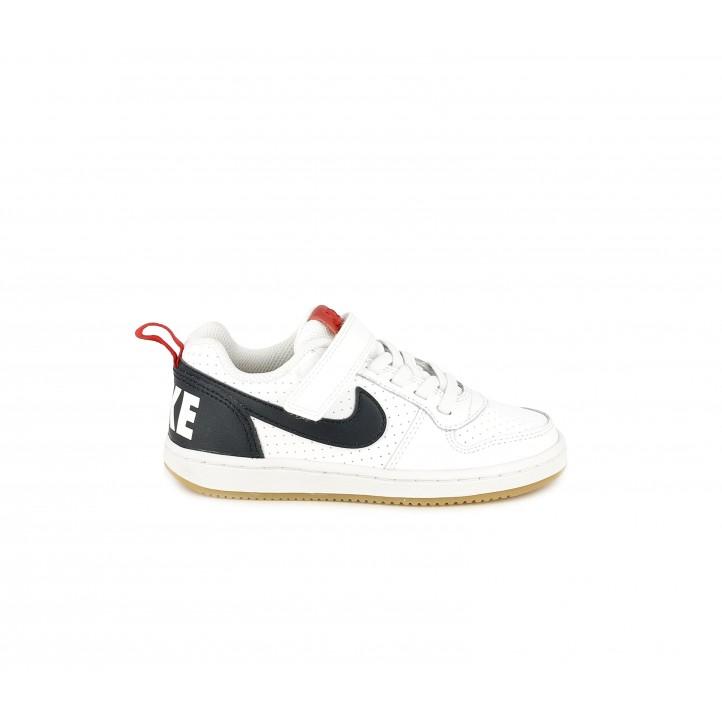 Sabatilles esport Nike blanca, blava i vermella - Querol online