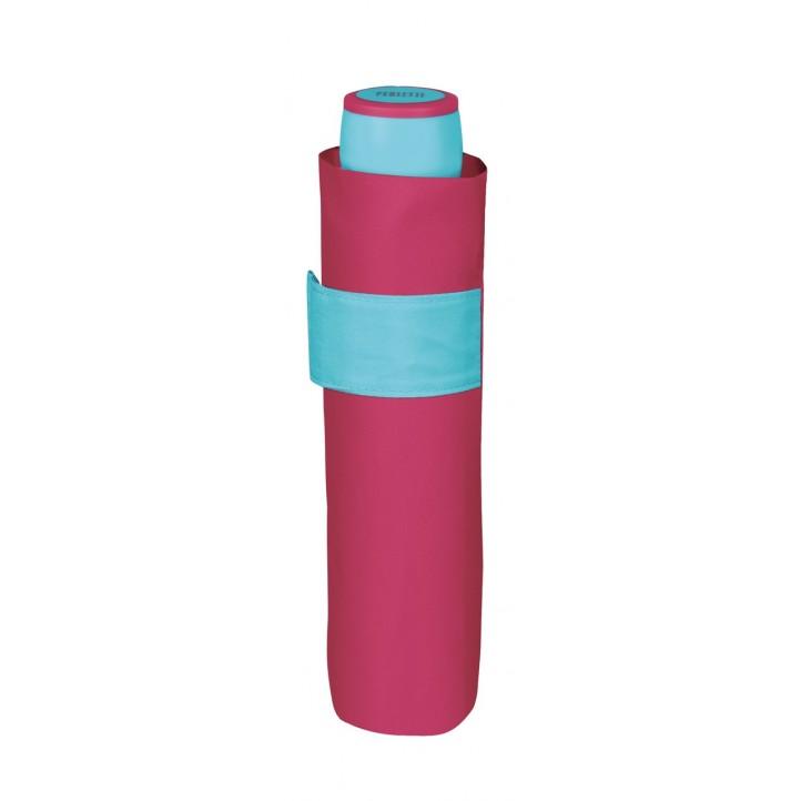 Complementos PERLETTI paraguas fucsia y azul - Querol online