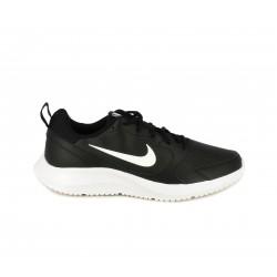 Sabatilles esportives Nike BQ3198 negres amb cordons y logotip en blanc