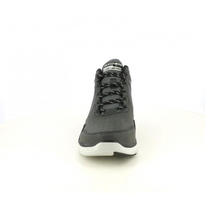 Botins Skechers grisoso de cordons amb plantilles memory foam - Querol online