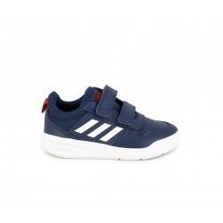 Zapatillas deporte Adidas vecror azul mariino y blanco con velcros - Querol online