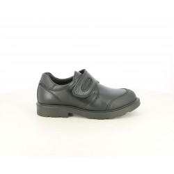 Zapatos Pablosky de piel negros cerrados con velcro - Querol online